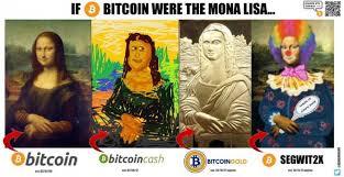 Bitcoin Meme - lisa