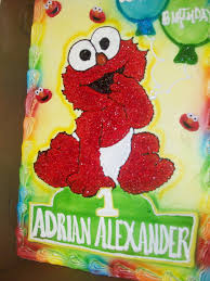 calumet bakery baby elmo drawing with airbrushed balloons elmo