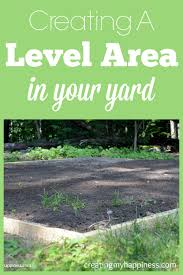 creating a level area in your yard small pools patios and yards