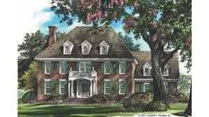 federal style house plans home plan homepw07640 2734 square foot 3 bedroom 2 bathroom