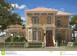 luxury victorian style house exterior stock photos image 24664173