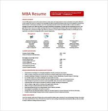Mba Resume Example Business Resume Sample Best Resume Collection