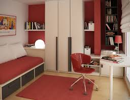 Bedroom Wall Art For Single Male Teenage Bedroom Colors With Modern Single Bed With Drawer Feat Red