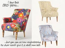 Printed Fabric Armchairs How I Repaired A Tear In My Chair U0027s Upholstery Making It Lovely
