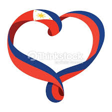 philippines flag ribbonshaped vector thinkstock