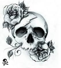 skull roses tattoo wish list tattoos pinterest rose tattoos