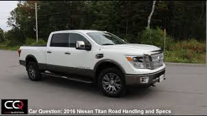 nissan titan fuel capacity 2016 nissan titan xd road handling and spec the most complete