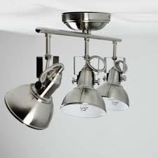 Esszimmer Lampe Schwenkbar Vintage Strahler Schwenkbar Nickel 3 Flammig