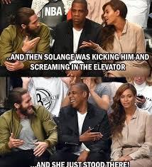 Solange Memes - solange attacks jay z meme s