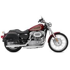 harley sportster 883 custom motorcycle saddlebags specific shock