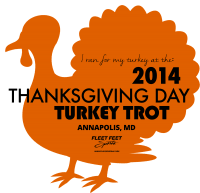 thanksgiving day turkey trot fleet annapolis