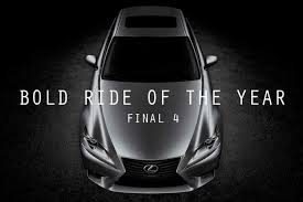lexus hills of woodford 2013 bold ride of the year the final 4