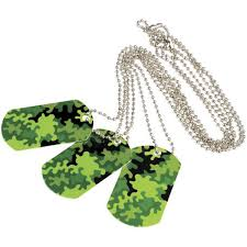 Camouflage Favors by Camouflage Green Tags Value Favors 12