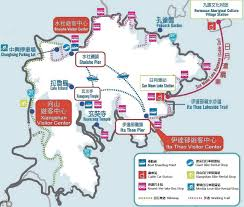 Cable Car Map Things To Do In The Sun Moon Lake Scenic Area Smart Travel U201c智 U201d助游