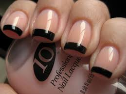 27 black french tip nail designs nail designs acrylic nails