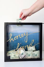 wedding registry money for house learn how to make this honeymoon fund frame honeymoon