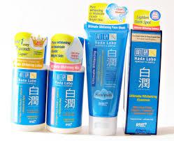 Sabun Hada Labo review hada labo shirojyun ultimate whitening series the