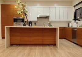 ikea kitchen with semihandmade rift teak fronts kitchen