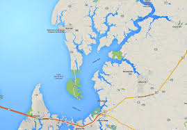 Show Me A Map Of Maryland Maps Of The Chesapeake Bay Rivers And Access Points