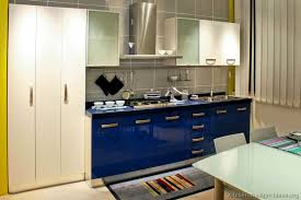 Blue Kitchen Cabinets Pictures Of Kitchens Modern Two Tone Kitchen Cabinets Kitchen