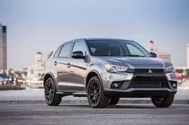 mitsubishi crossover models mitsubishi outlander sport gains u0027limited edition u0027 trim
