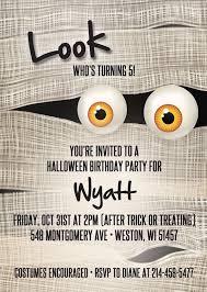 best 25 halloween birthday invitations ideas on pinterest