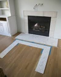 Travertine Fireplace Tile by White U0026 Marble Fireplace The Makeover Details Marble Subway