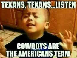 Team Meme - cowboys are the american team funny meme picture