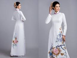 ao dai cuoi dep áo dài cưới những mẫu áo dài cưới đẹp nhất 2017