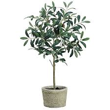 artificial olive tree in pot 26