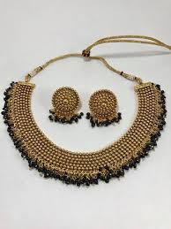 gold plated necklace set images Gold plated necklace set jpg
