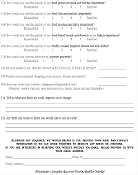 Questionnaire For Home Design by Cvm Questionaire Chappaqua Village Market Chappaqua Village Market