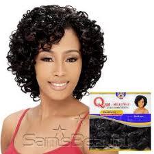 shortcut for black hair human hair blend weave milky way que shortcut series oprah cosmo