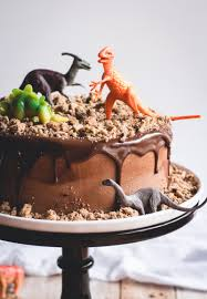 chocolate chips ahoy dinosaur cake butterlust