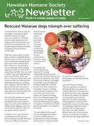 september 2015 news by hawaiian humane issuu