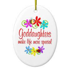 goddaughter ornaments keepsake ornaments zazzle