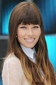 blunt fringe hairstyles nine blunt bangs ideas for your next haircut from the