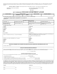 apartment lease agreement forms and templates fillable