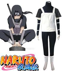 Naruto Halloween Costume Aliexpress Buy Free Shipping Naruto Shippuden Uchiha Itachi