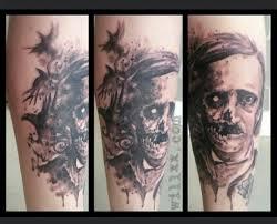 edgar allan poe by will xx at blaque salt tattoo in salt lake city