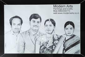 pencil sketch work done in modern arts paintings u0026 crafts in pune