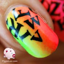 love letter nail art newspaper tecnique youtube nail art tutorial