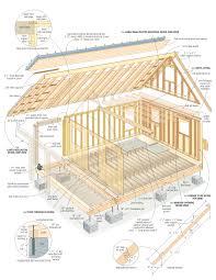cabin plans s most complete cabin plans construction course