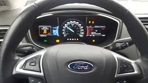 ford fusion ford fusion questions why do allthe lights on my dash of my ford