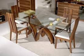 Glass Table Dining Room Sets by Dining Tables Stunning Glass Top Dining Table Set Glass Dining