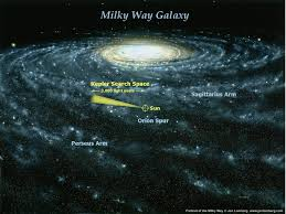 Milky Way Galaxy Map Milky Way Galaxy Pictures Nasa Image Gallery Hcpr