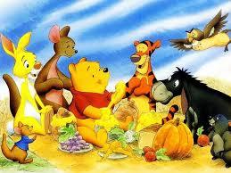 thanksgiving dinner disney winnie the pooh wallpaper