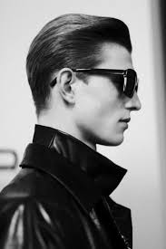 teddy boy hairstyle slicked back hair shaved sides men hairstyles mens hairstyles edgy