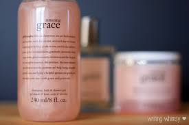 philosophy bath and shower gel philosophy amazing grace s day set writing whimsy