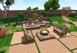 Backyard Plan Design Backyard Online Free Interactive Garden Design Tool No